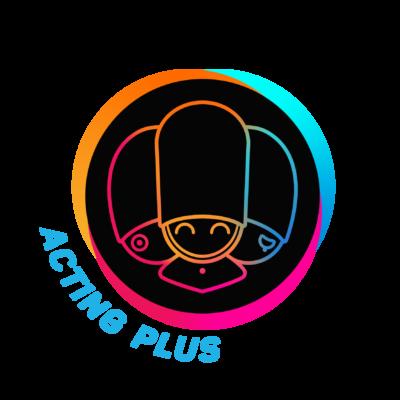 logo acting plus performing arts